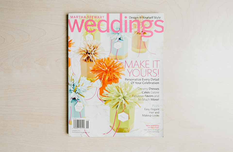 Martha Stewart Weddings | Summer 2012 | Feature