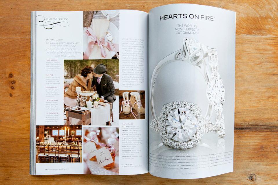 Martha Stewart Weddings | Winter 2013 | Feature