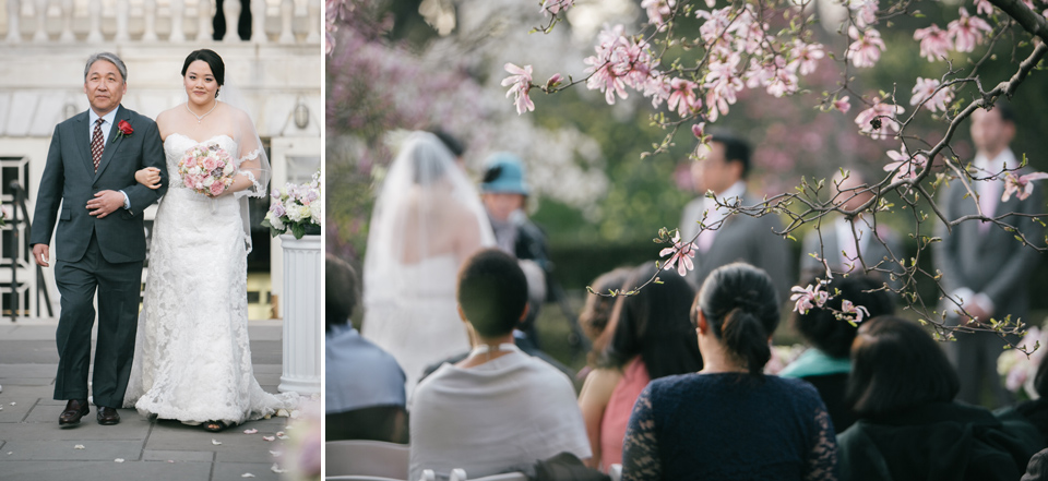 Khai & Justina | Brooklyn Botanical Gardens | Photos by Emily