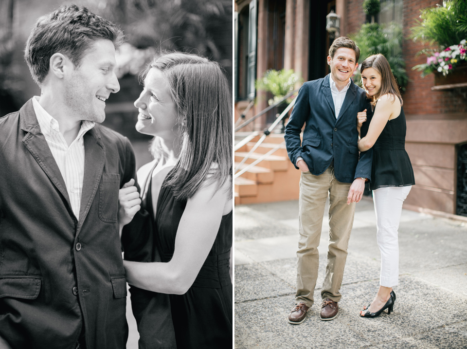 Emma & Adam | Engagement Session | Rittenhouse Square
