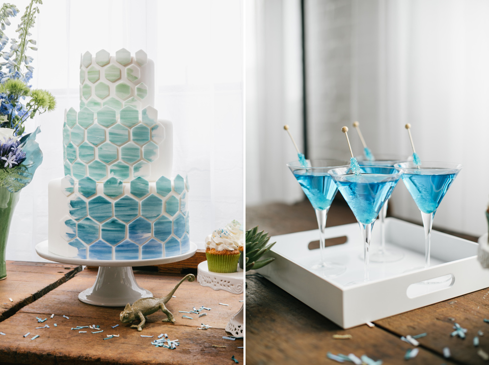 Geometric Inspired Wedding Shoot | Reading Artworks | Styled Shoot