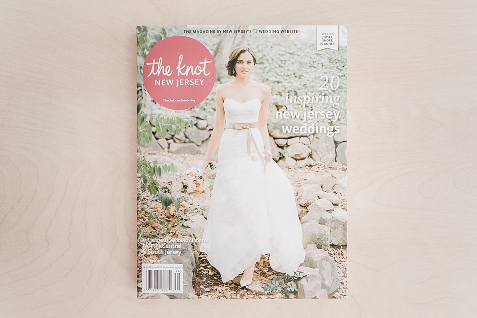 The Knot New Jersey | Fall/Winter 2014| Ashely & Gabby Real Wedding