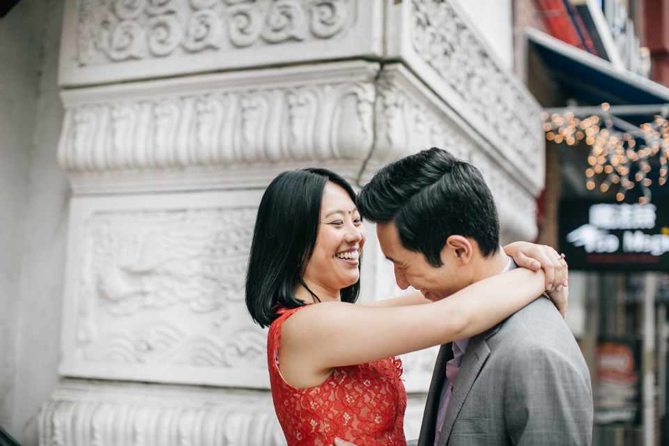 Kesi & Mike | Chinatown, Philadelphia | Engagement Session