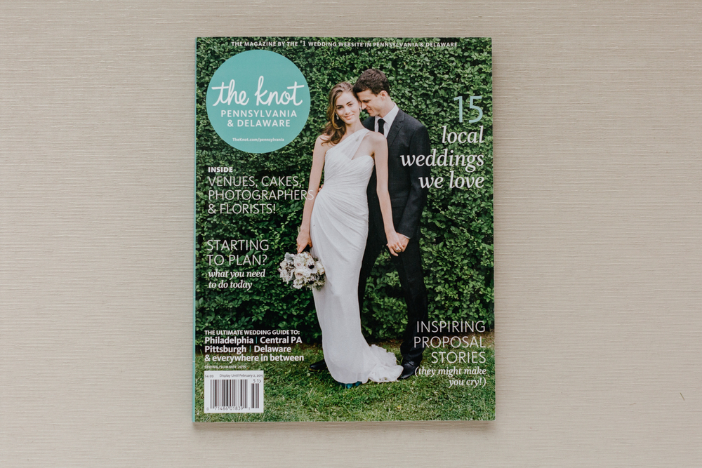 The Knot Magazine Feature Emily Wren Photography
