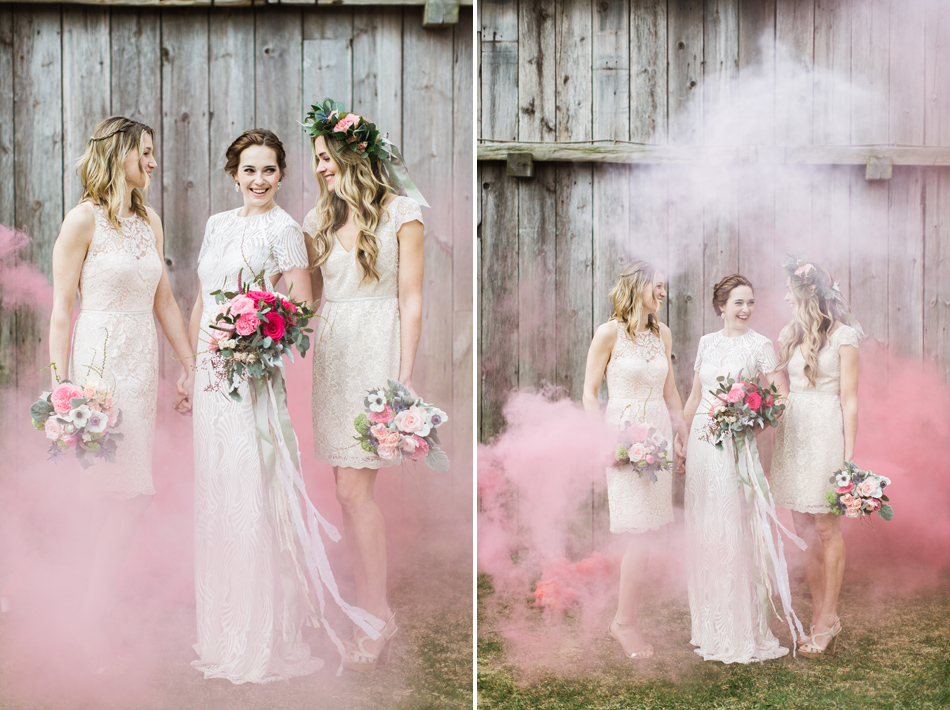 Colored Smoke Styled Shoot // Terrain // Glen Mills, PA