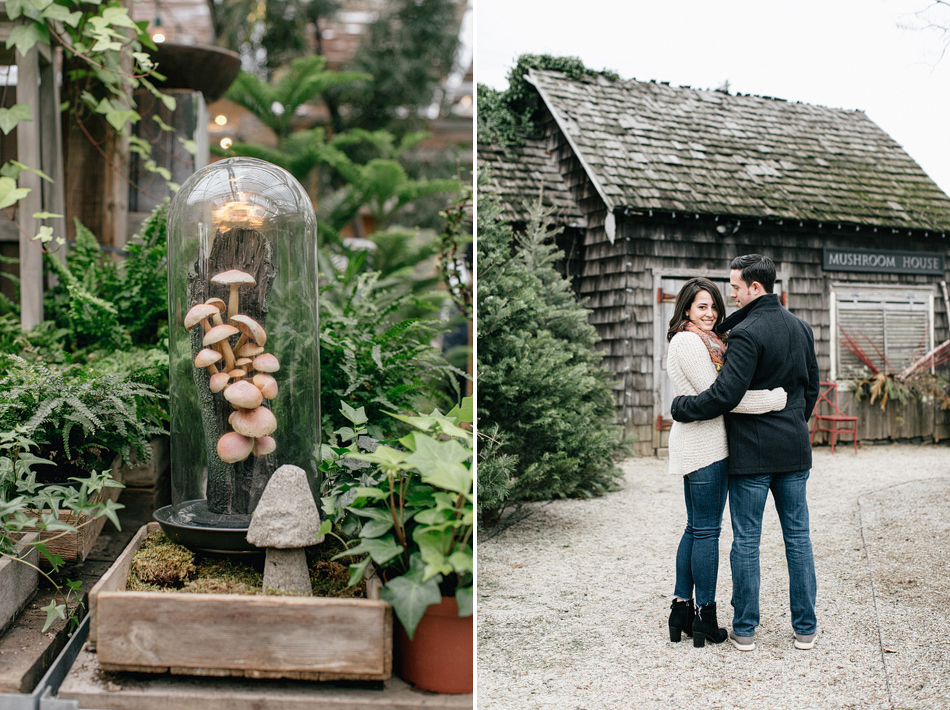 Kelly & David | Winter Engagement Session | Terrain at Styers, Glen ...