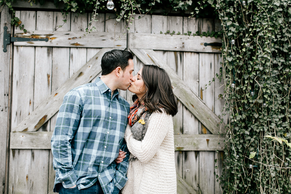 Kelly & David // Winter Engagement Session // Terrain at Styers, Glen Mills, PA