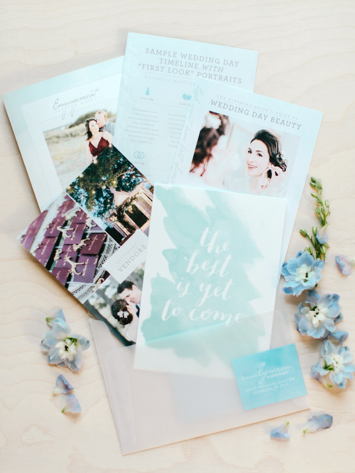 Emily Wren Photography Welcome Gift