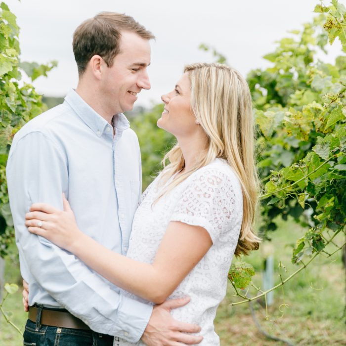 Erin & Colin | Engagement Session | Pennsylvania Vineyard