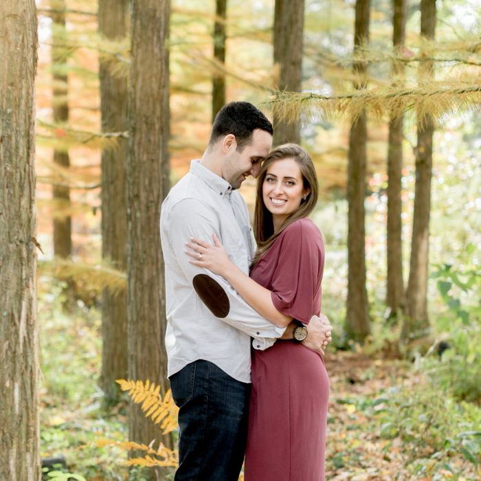 Ariel & Tom | Engagement Session | West Chester and Longwood Gardens, PA