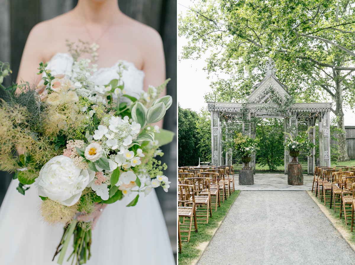 Lush Green Terrain Wedding | Philadelphia Wedding Photographer | Emily Wren