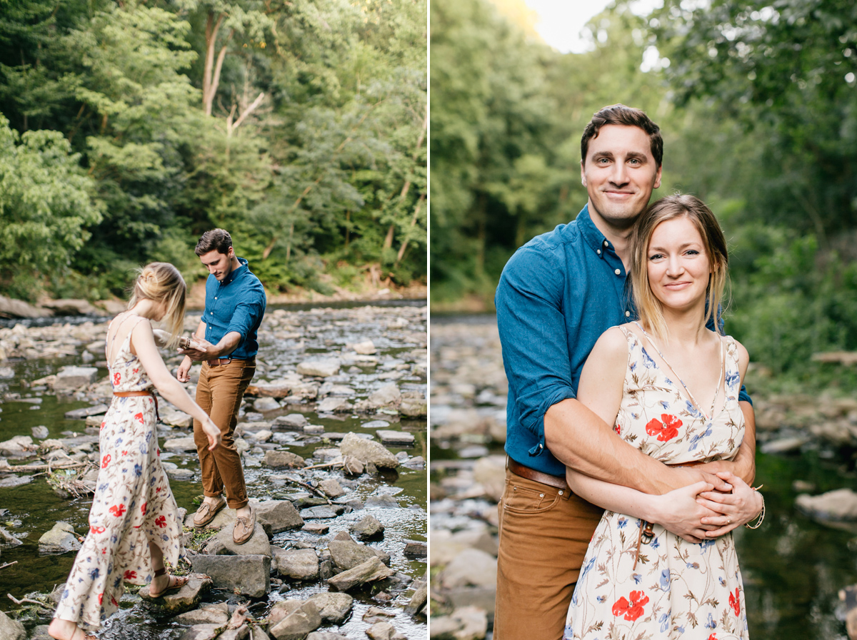 Romantic Philadelphia Engagement Photographer | Emily Wren