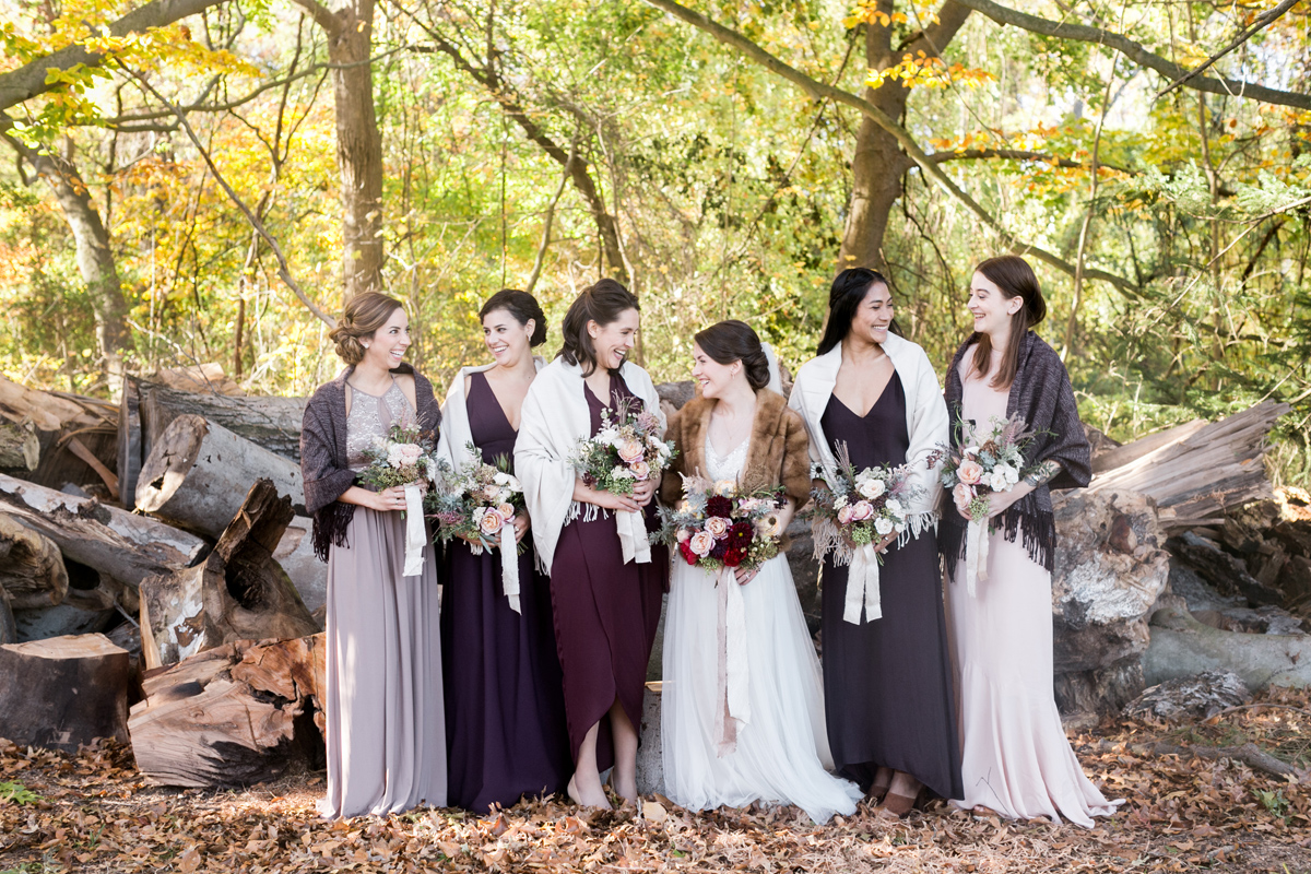rich fall wedding / Philadelphia Wedding Photographer / Emily Wren