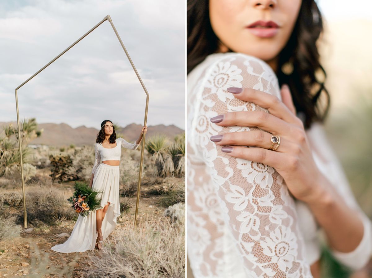 Dessert Joshua Tree Elopement | Destination Wedding Photography | Emily Wren