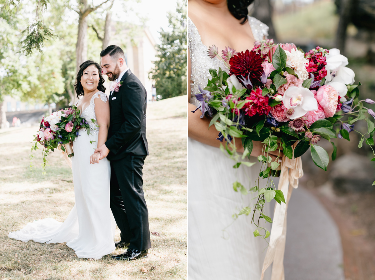 Beautiful Blooms Waterworks Wedding / Philadelphia Wedding Photographer / Emily Wren
