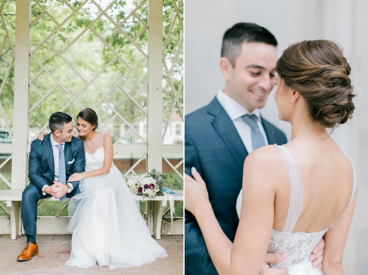 18th Century Garden in Old City Wedding | Philadelphia Wedding Photographer | Emily Wren