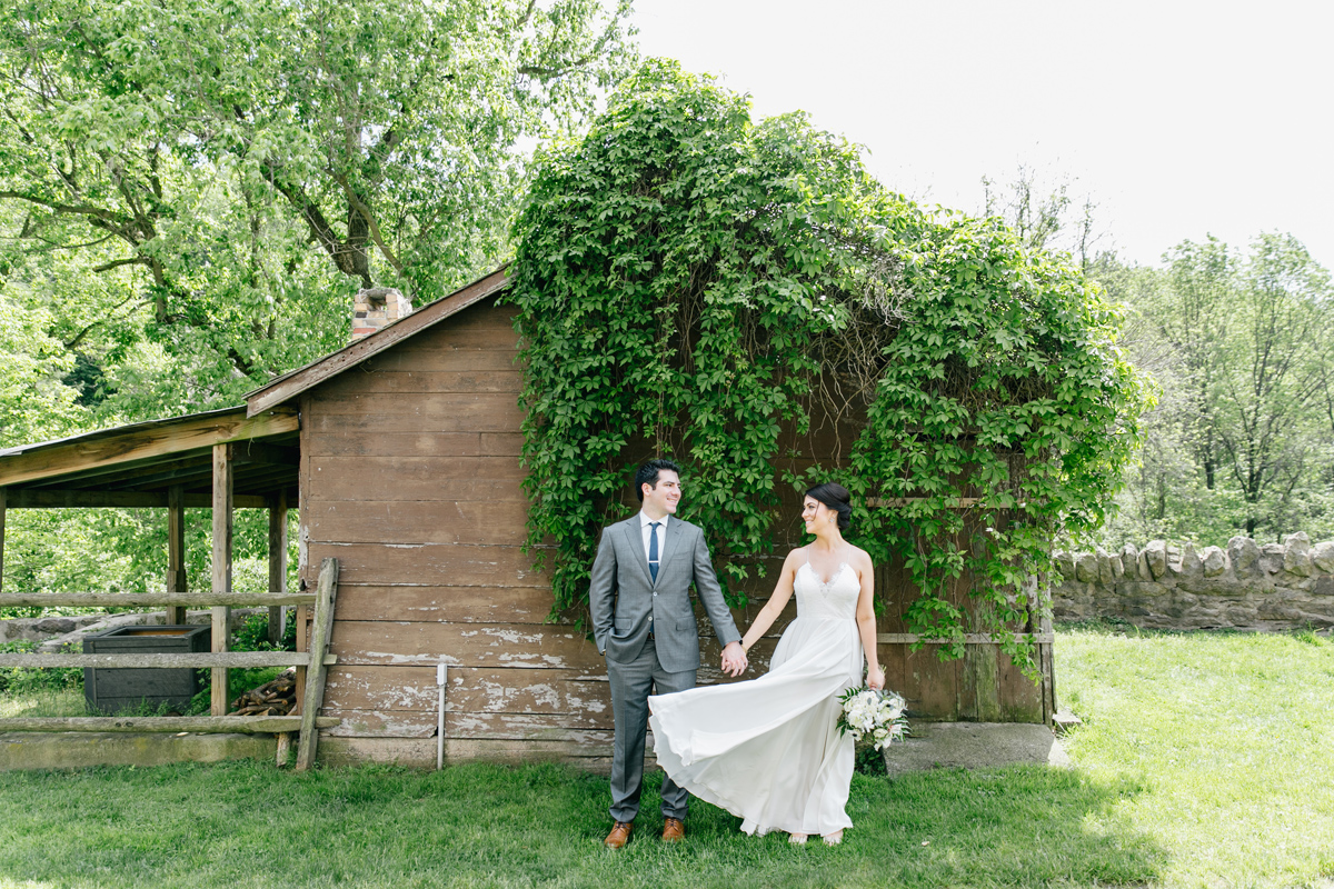 Bohemian Summer John James Audubon Wedding | Philadelphia Wedding Photographer | Emily Wren