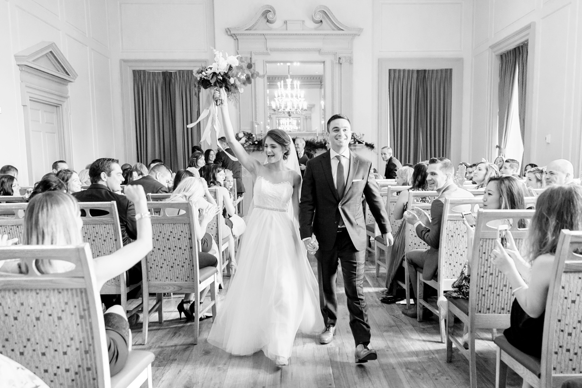 Elegant Downtown Wedding | Philadelphia Wedding Photographer | Emily Wren