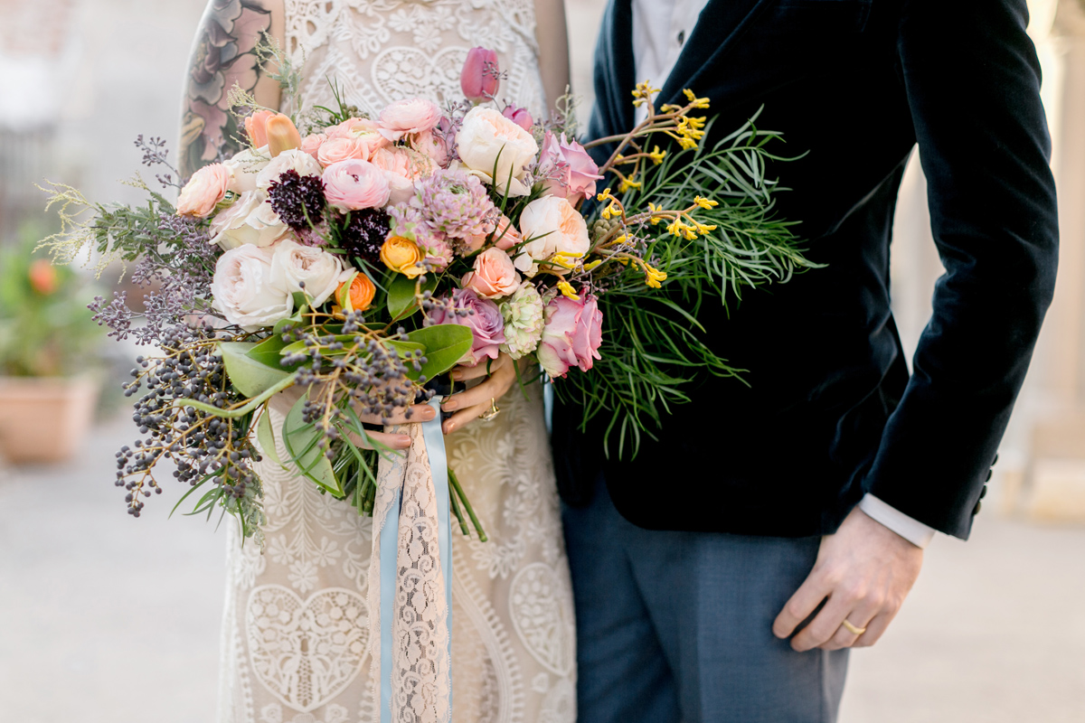 industrial bohemian wedding inspiration / Philadelphia Wedding Photographer / Emily Wren