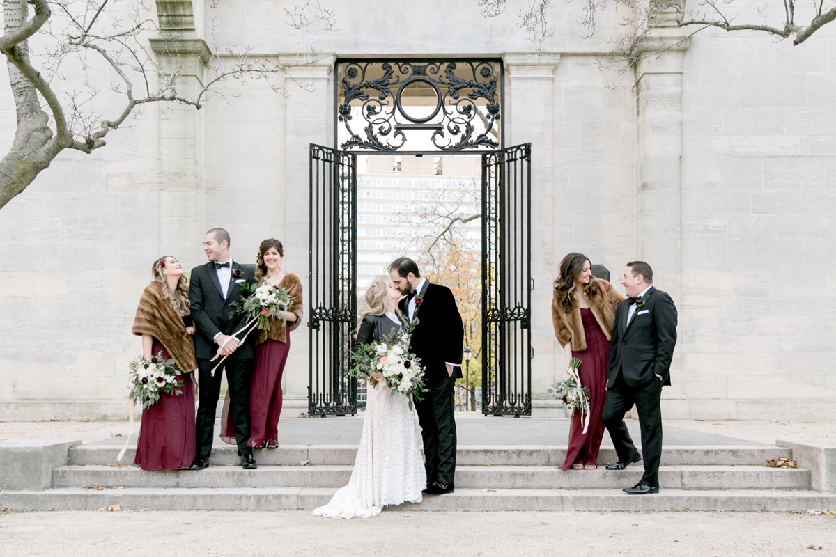 Romantic Winter Wedding Vie | Philadelphia Wedding Photographer | Emily Wren