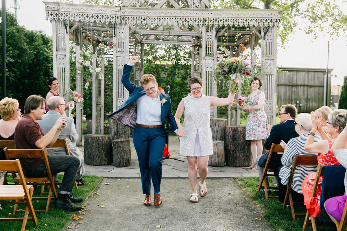 Lesbian Terrain Wedding | Philadelphia Wedding Photographer | Emily Wren