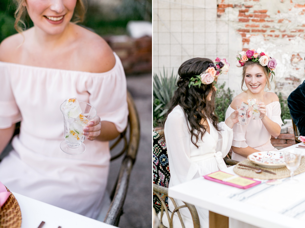 Bold + Floral-Filled '70s-Inspired Wedding Inspiration by Emily Wren Photography