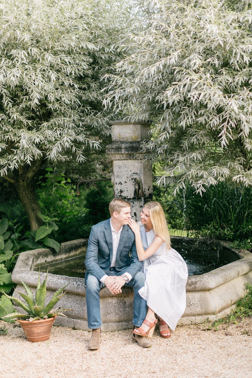 Aly Tor Summer Engagement Session At Hortulus Farm Garden And Nursery Emily Wren Photography New Hope Wedding Photographer 011