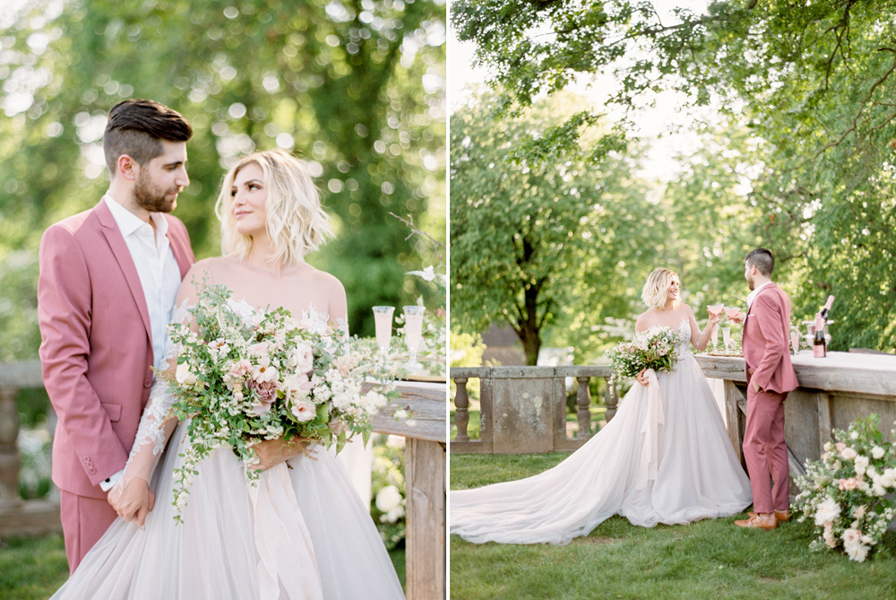 French Formal Garden Wedding Tyler Gardens Romantic Film Wedding Photographer Emily Wren Photography 18