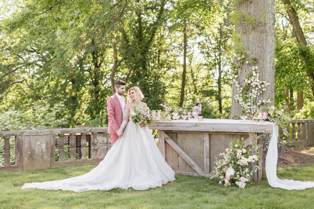 French Formal Garden Wedding Tyler Gardens Romantic Film Wedding Photographer Emily Wren Photography 22