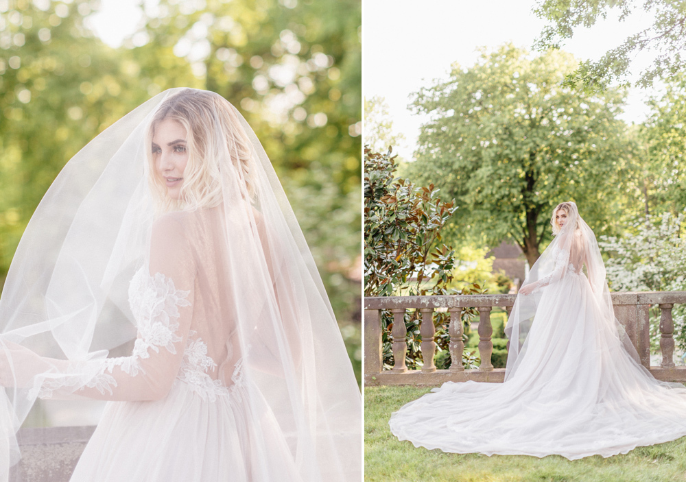 French Formal Garden Wedding Tyler Gardens Romantic Film Wedding Photographer Emily Wren Photography 33