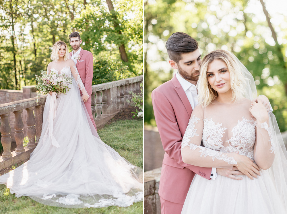 French Formal Garden Wedding Tyler Gardens Romantic Film Wedding Photographer Emily Wren Photography 34