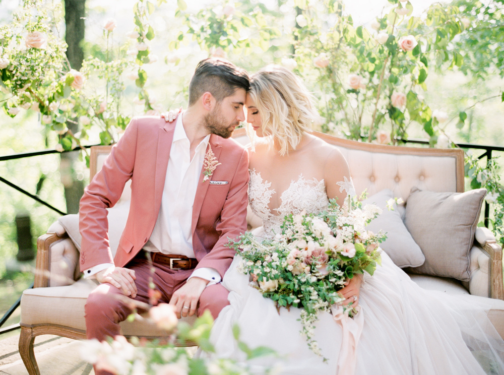 French Formal Garden Wedding Tyler Gardens Romantic Film Wedding Photographer Emily Wren Photography 36