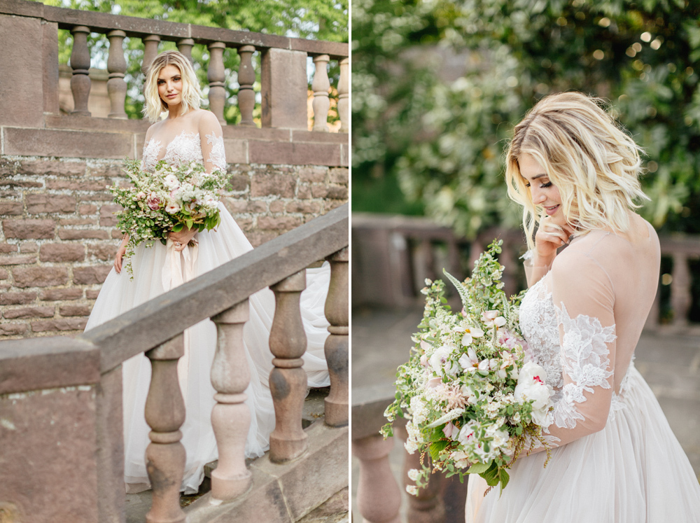 French Formal Garden Wedding Tyler Gardens Romantic Film Wedding Photographer Emily Wren Photography 49