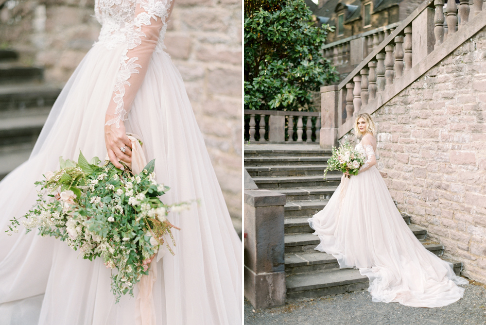 French Formal Garden Wedding Tyler Gardens Romantic Film Wedding Photographer Emily Wren Photography 51