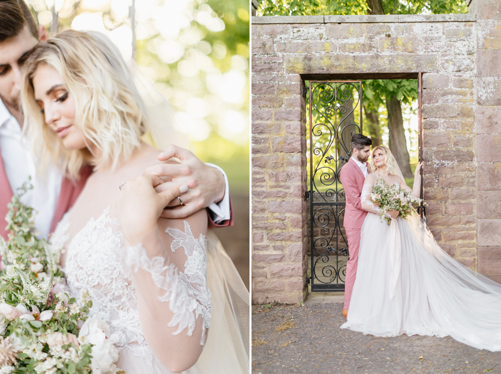 French Formal Garden Wedding Tyler Gardens Romantic Film Wedding Photographer Emily Wren Photography 56