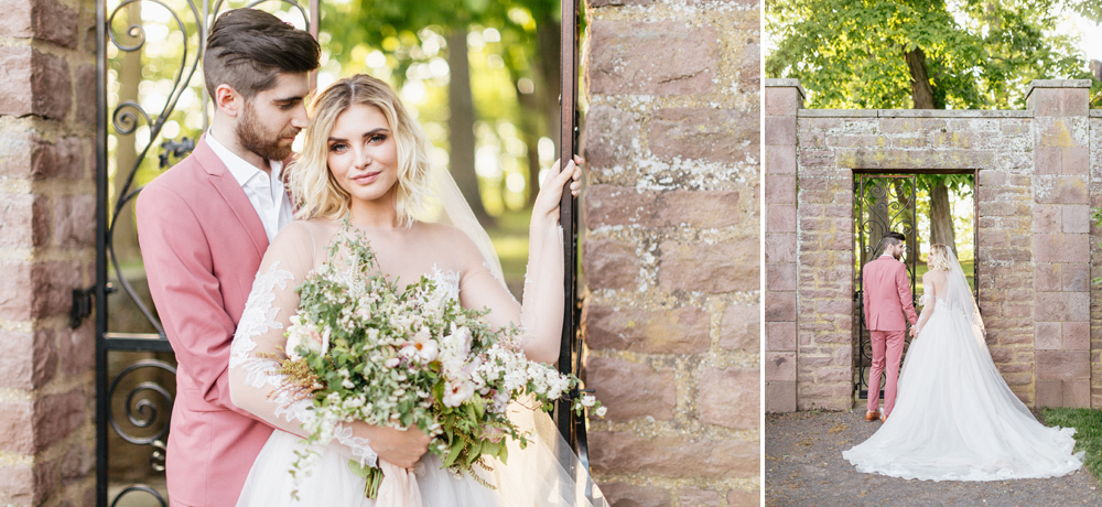 French Formal Garden Wedding Tyler Gardens Romantic Film Wedding Photographer Emily Wren Photography 57