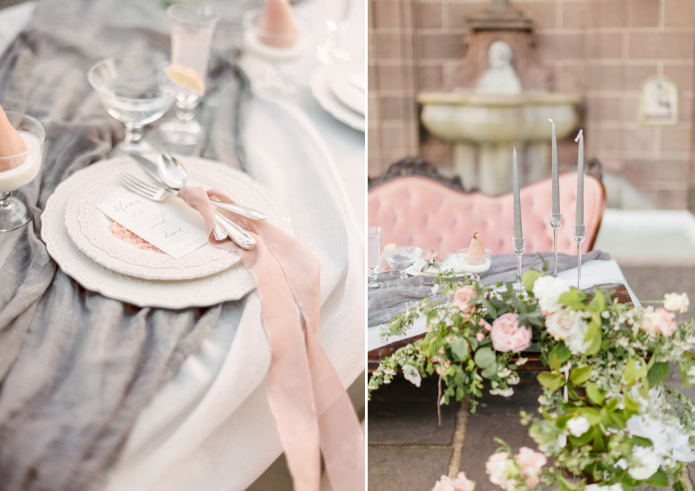 French Formal Garden Wedding Tyler Gardens Romantic Film Wedding Photographer Emily Wren Photography 59