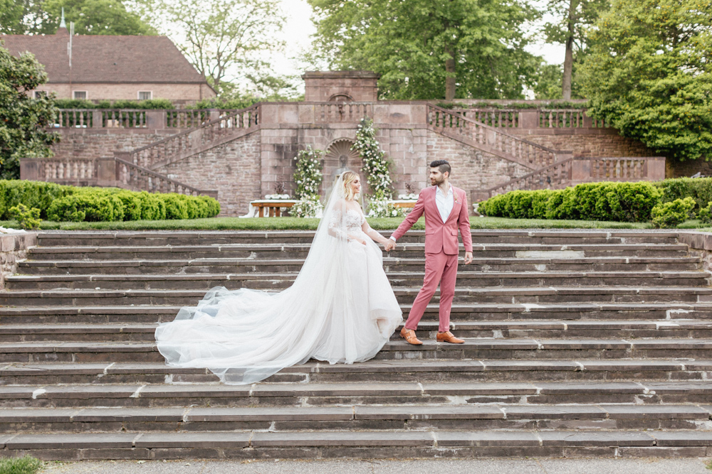 French Formal Garden Wedding Tyler Gardens Romantic Film Wedding Photographer Emily Wren Photography 65