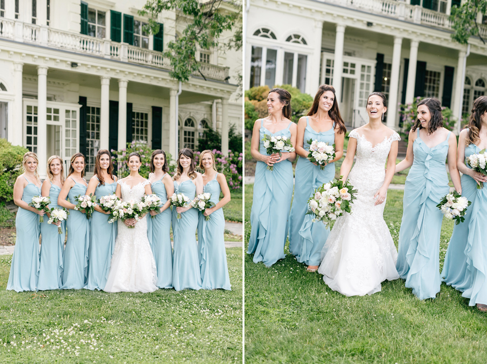 The Perfect Summer Garden Party Wedding At Glen Fored On Th Delaware Emily Wren Photography 52