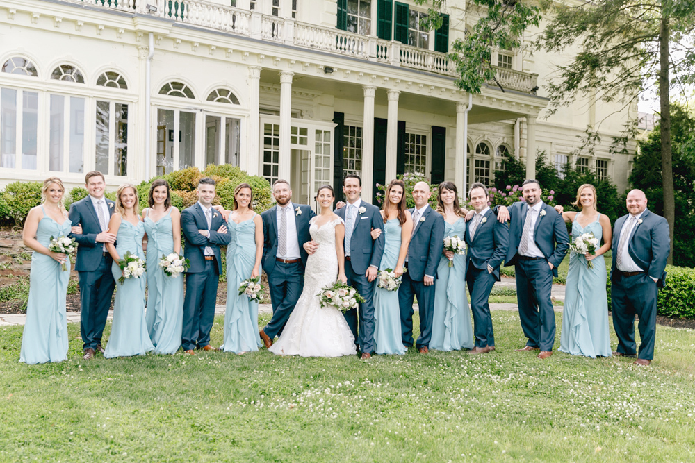 The Perfect Summer Garden Party Wedding At Glen Fored On Th Delaware Emily Wren Photography 56