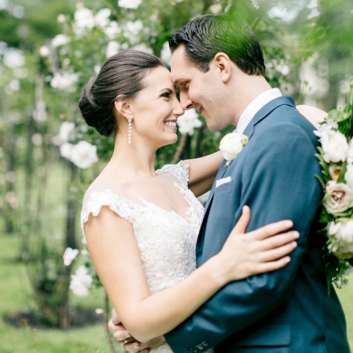 The Perfect Summer Garden Wedding | Glen Foerd on the Delaware | Emily Wren Photography