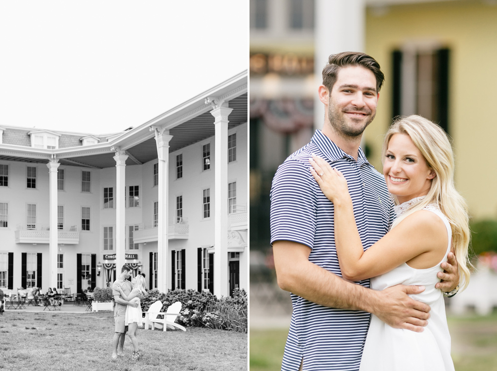 Kathryn Joe Congress Hall Cape May New Jersey Engagement Session Emily Wren Photography 001