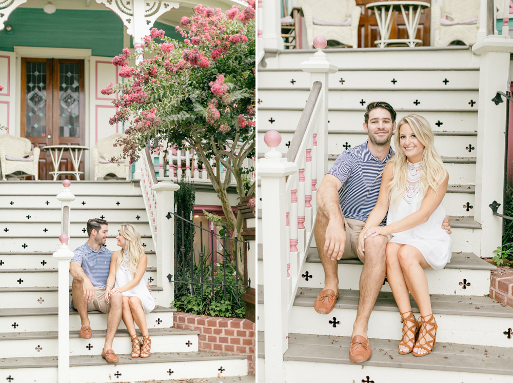 Kathryn Joe Congress Hall Cape May New Jersey Engagement Session Emily Wren Photography 021