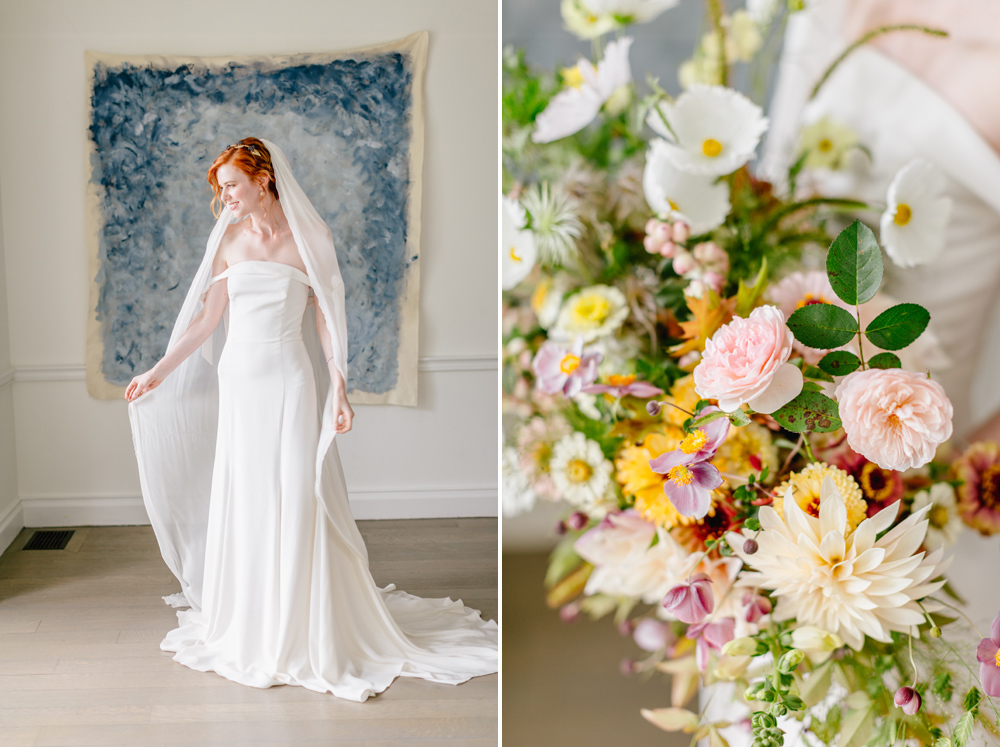 Alverthrope Manor Contemporary Wedding Inspired By Old World Romance Emily Wren Photography012