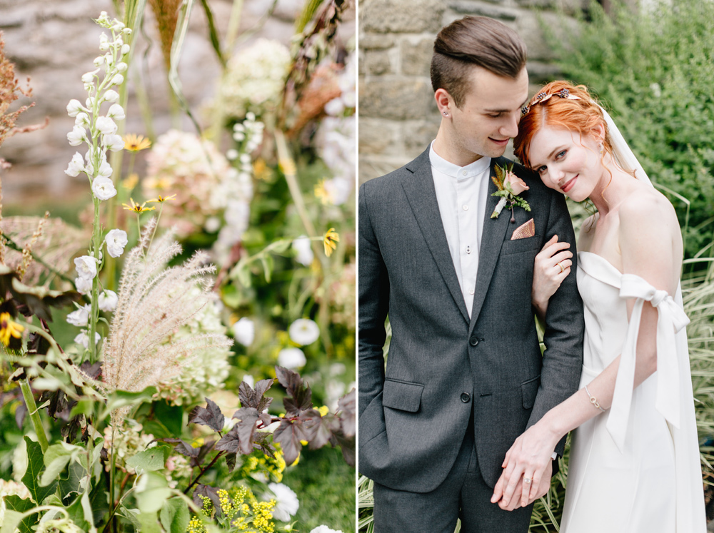 Alverthrope Manor Contemporary Wedding Inspired By Old World Romance Emily Wren Photography036