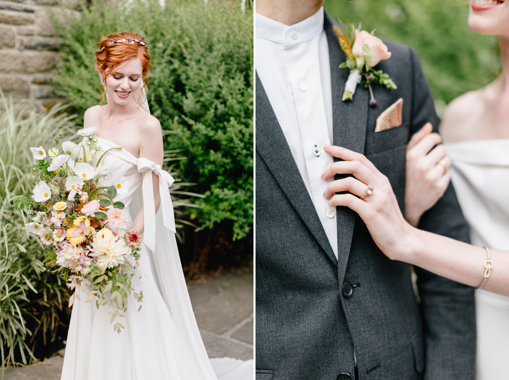 Alverthrope Manor Contemporary Wedding Inspired By Old World Romance Emily Wren Photography037
