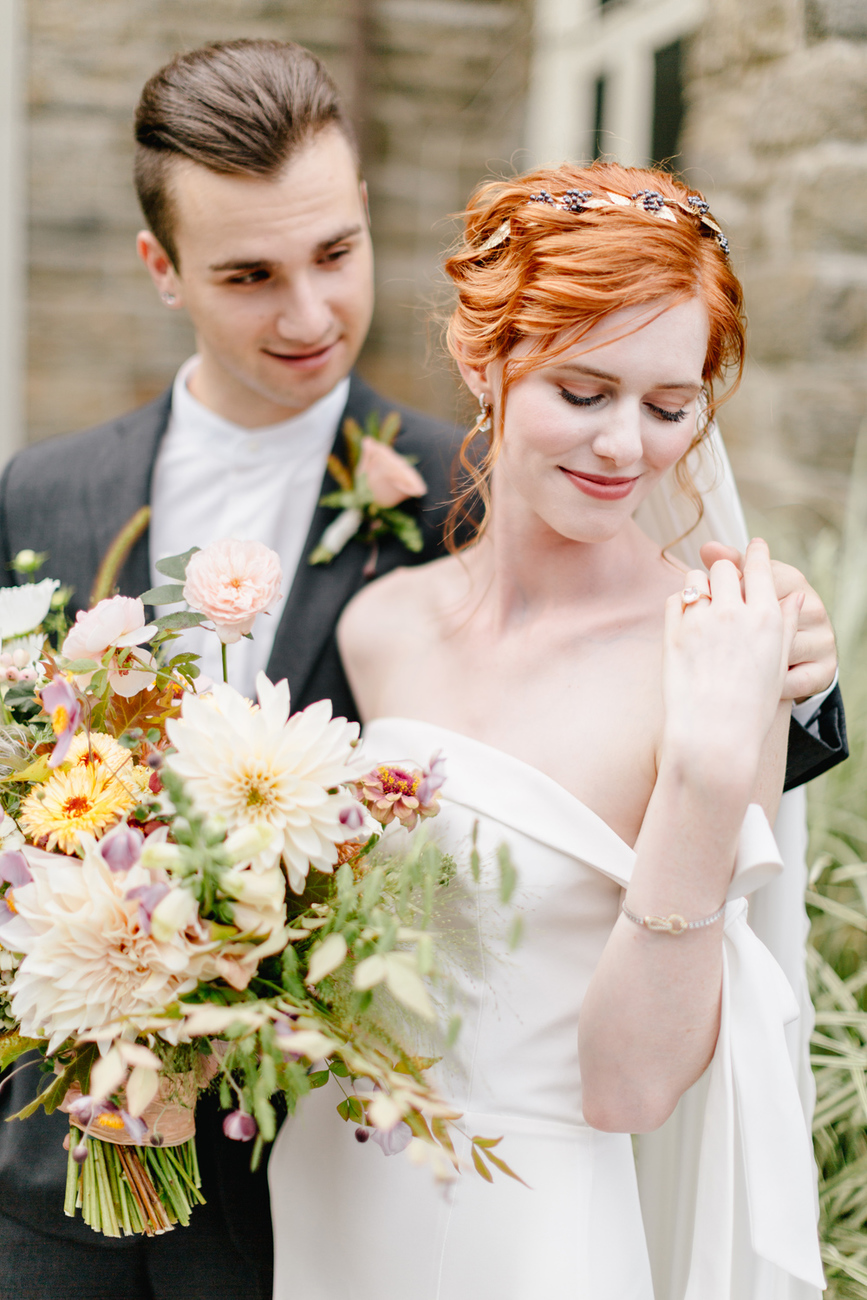 Alverthrope Manor Contemporary Wedding Inspired By Old World Romance Emily Wren Photography040