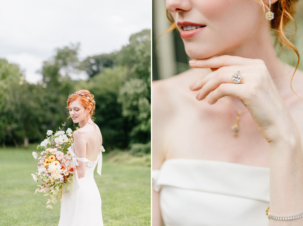 Alverthrope Manor Contemporary Wedding Inspired By Old World Romance Emily Wren Photography042