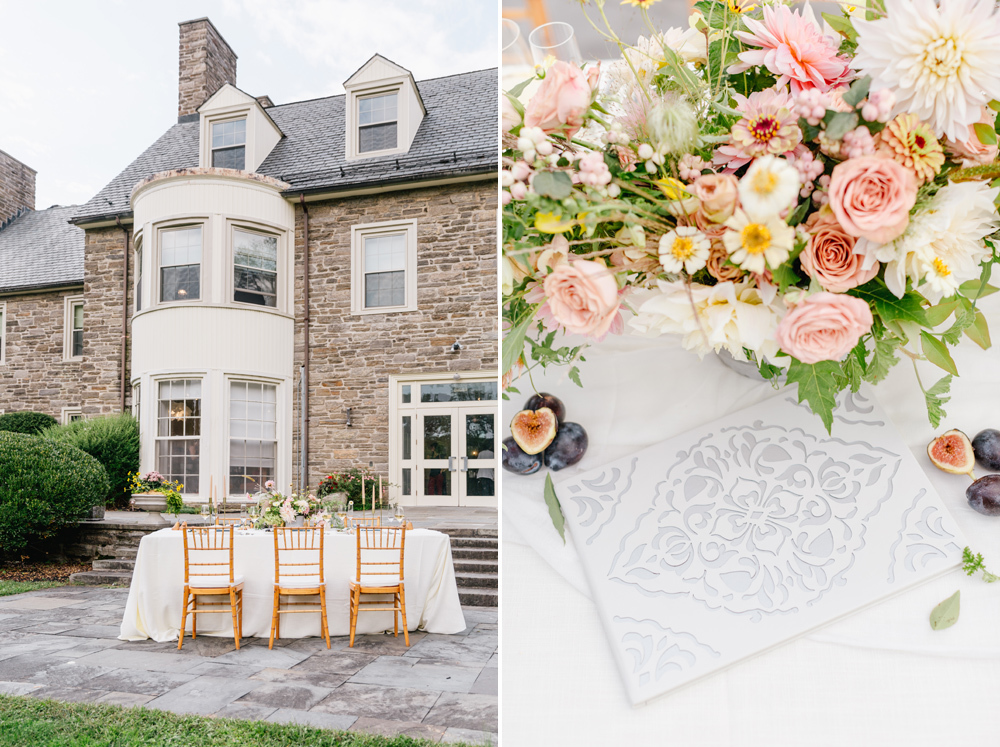 Alverthrope Manor Contemporary Wedding Inspired By Old World Romance Emily Wren Photography052