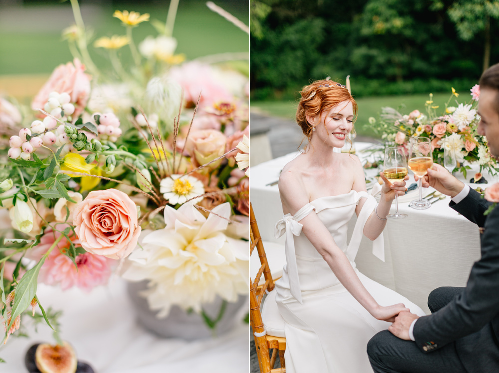 Alverthrope Manor Contemporary Wedding Inspired By Old World Romance Emily Wren Photography057